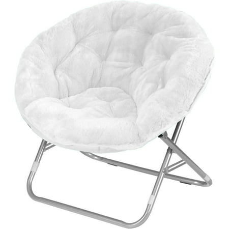 Kids Embroidered Chair (Mainstays Faux-Fur Saucer Chair, Multiple)