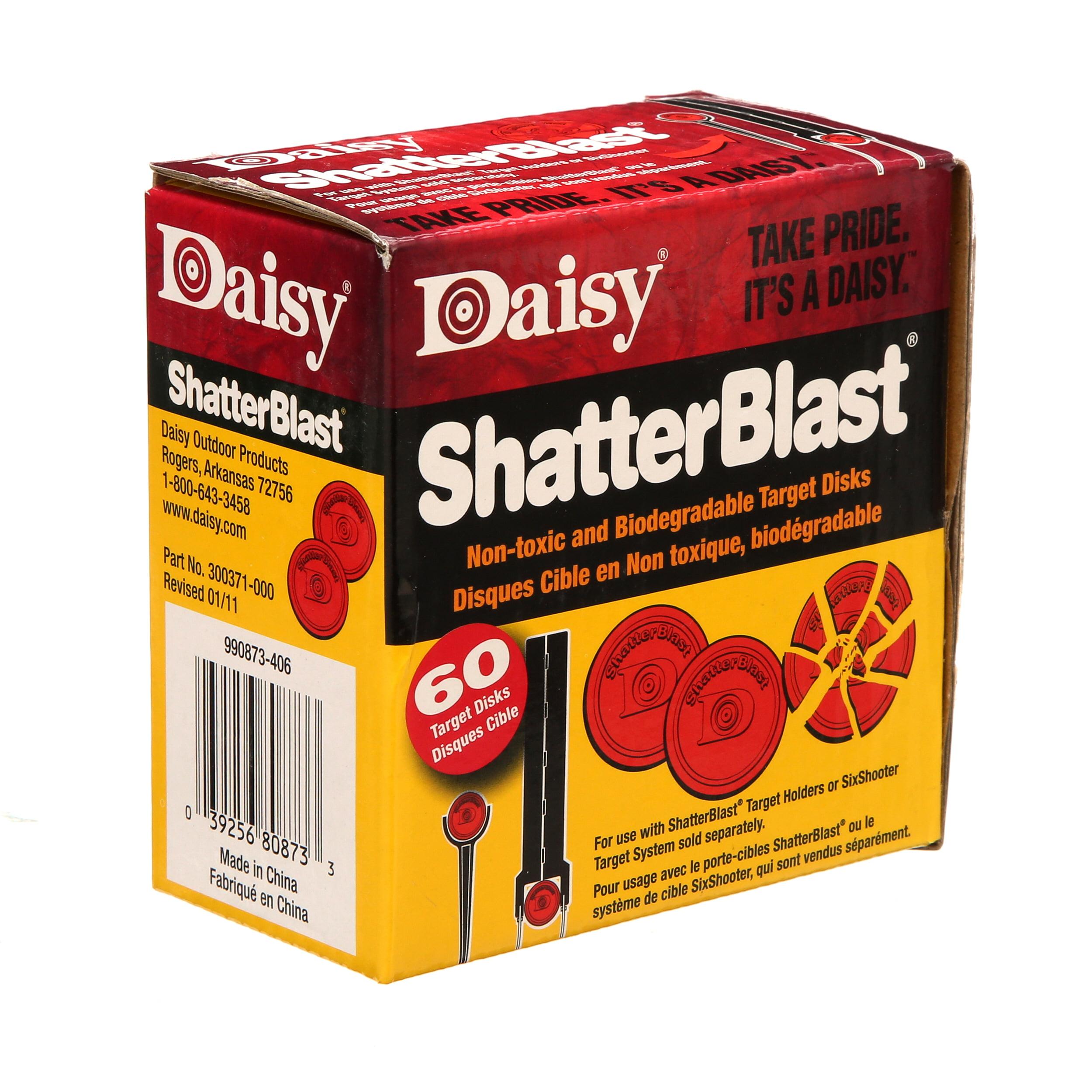 Daisy Shatterblast Targets 990873-406 60 ct.