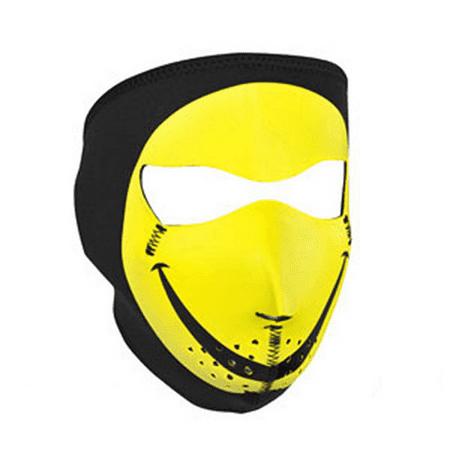 FULL MASK, NEOPRENE, SMILEY FACE - Smiley Face Mask