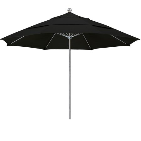- Eclipse Collection 11SSteel SinglePole FGlass Ribs M Umbrella DV Anodized/Olefin/Black