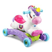 VTech Prance and Rock Learning Unicorn, Rocker to Rider Toy