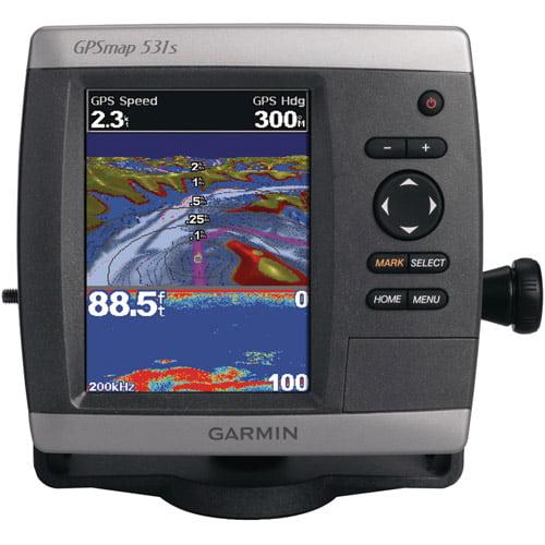 GARMIN 010-00761-01 GPSMAP(R) 531S GPS Receiver (GPSMAP(R) 531S; With dual-beam transducer)