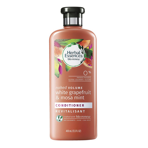 Herbal Essences Naked Volume White Grapefruit and Mosa Mint Hair Conditioner, 13.5 Oz, 6 Pack