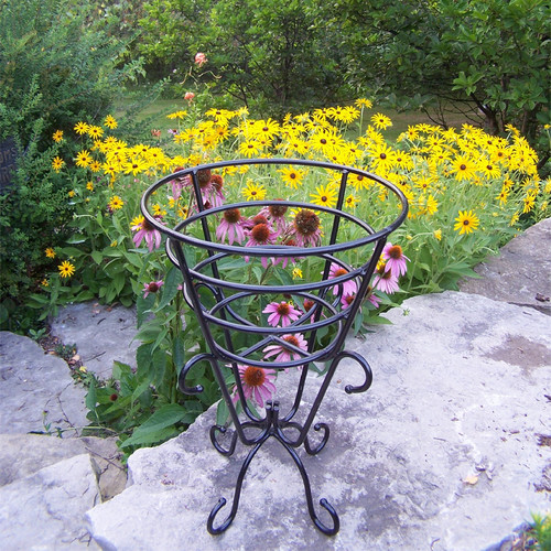 Oakland Living Gold Cup Plant Stand