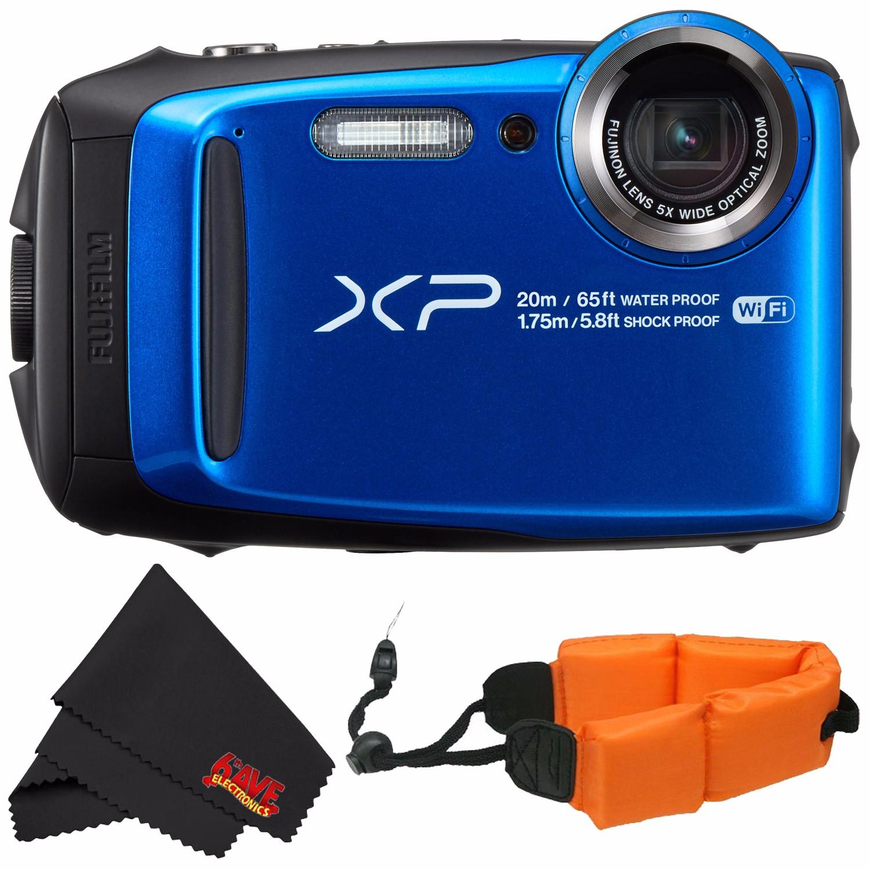 Fujifilm FinePix XP120 Waterproof Digital Camera International Model (Yellow) 16544125