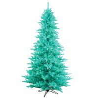 Vickerman Co. 12' Aqua Fir Christmas Tree with 1650 LED Aqua Lights