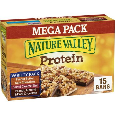 Nature Valley PB Dark Choc Salted Caramel Nut Protein Chewy -