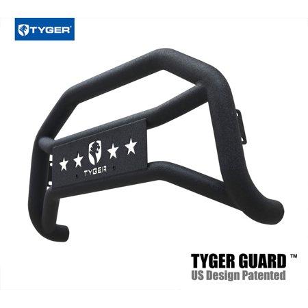 (TYGER Bumper Guard Textured Black Fits 07-18 Chevy Silverado / GMC Sierra 1500; 2007 2008 2009 2010 2011 2012 2013 2014 2015 2016 2017 2018)