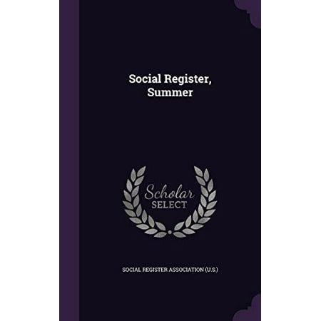 Social Register  Summer