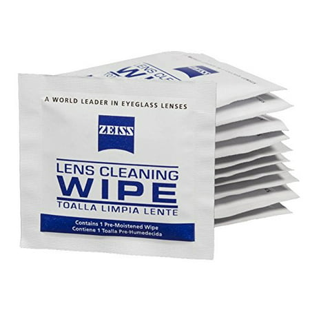Zeiss Pre-Moistened Lens Cleaning Wipes 200-Count Bulk Packaging