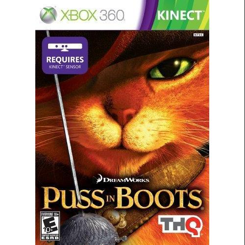 Kinect Puss in Boots  (Xbox 360)