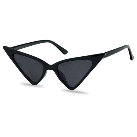 Oversized Exaggerated Super High Pointed Triangular Cat Eye Butterfly Style Sunglasses for Women