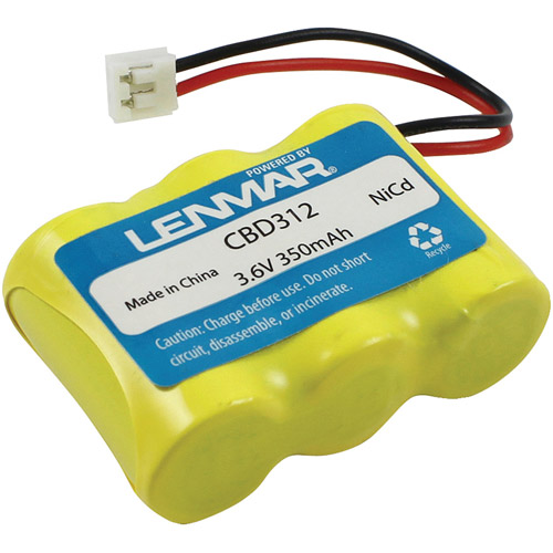Lenmar CBD312 AT&T, GE, Pac-Tel, PhoneMate and Sharp Replacement Battery