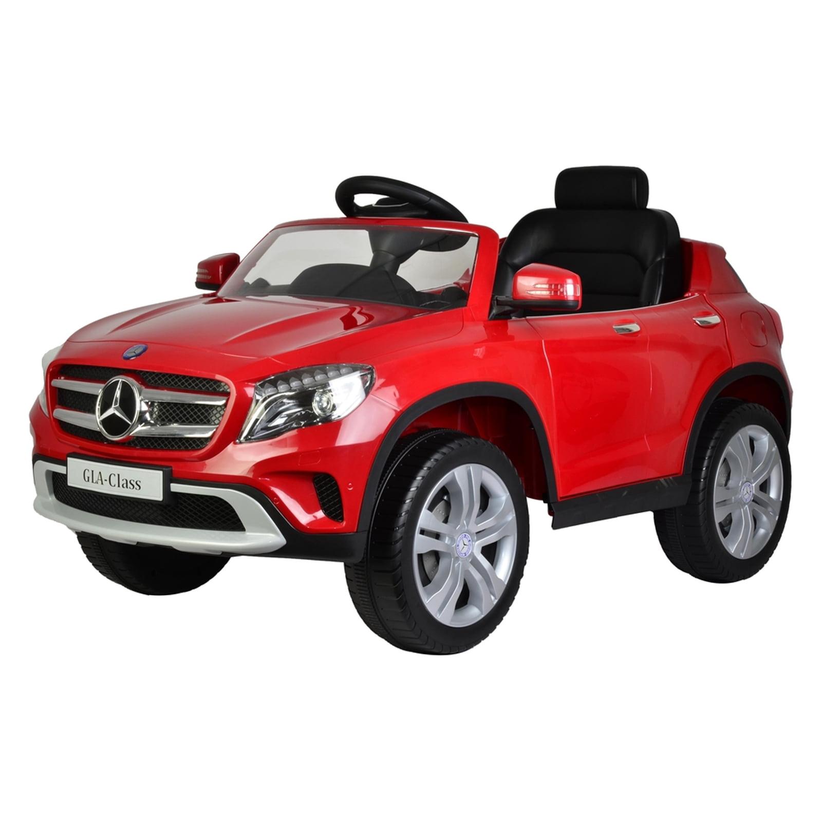 mercedes benz gla 12v licensed kids battery powered ride on car red walmartcom