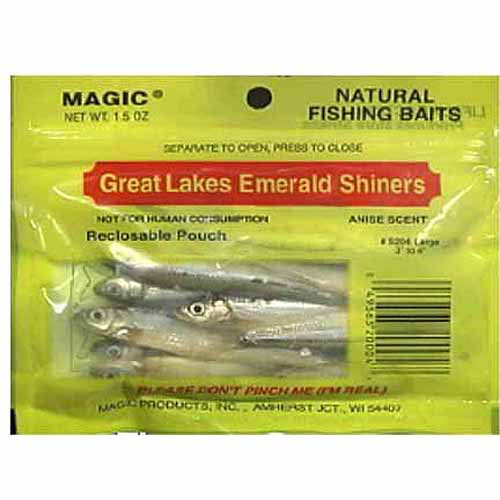 Magic Products Emerald Shiner Minnows