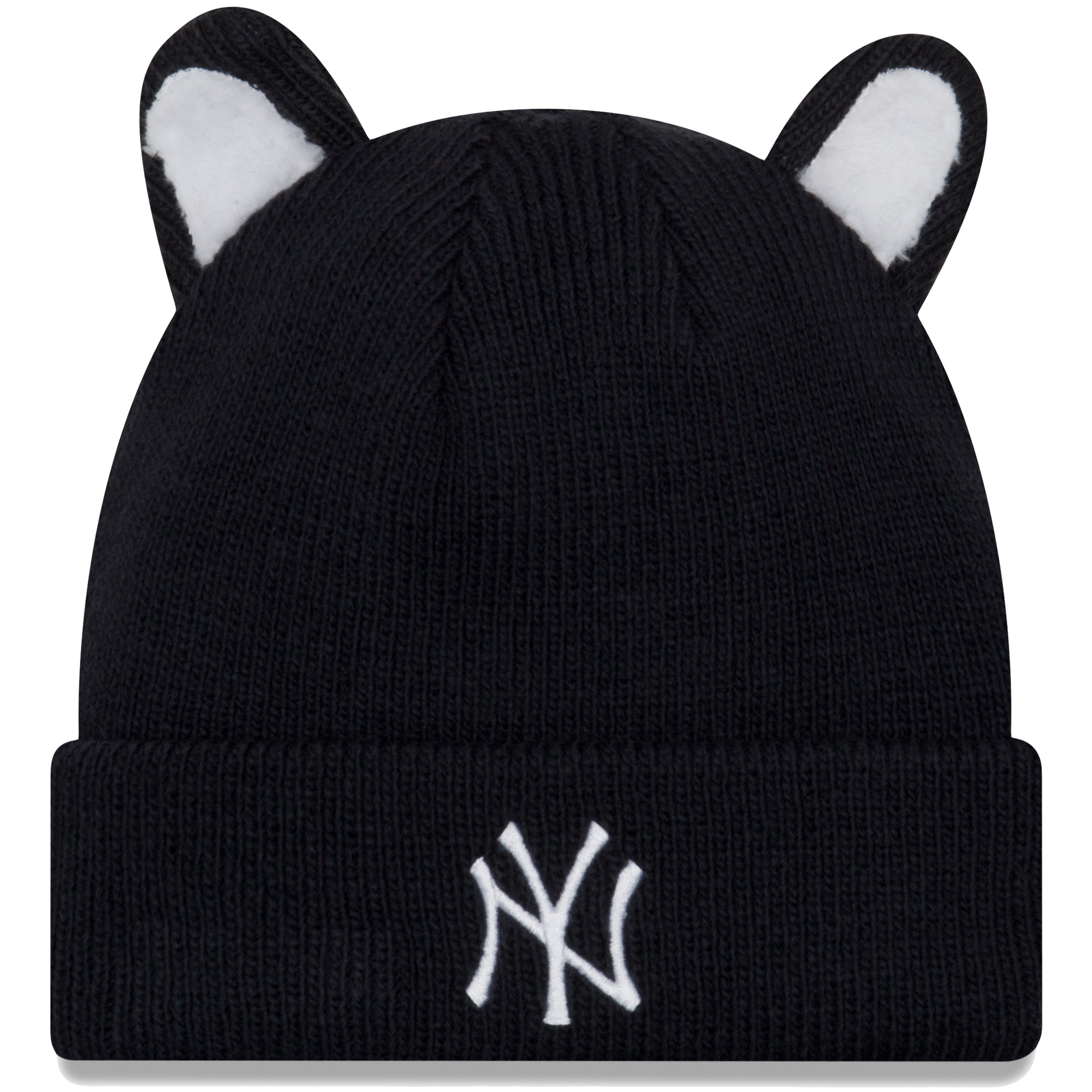 ffa37963f75834 ... reduced new york yankees new era toddler cozy cutie cuffed knit hat  navy osfa f954a 96fd5