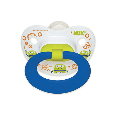 NUK® Day & Night Glow Silicone Pacifier, 6–18 months, 2pk