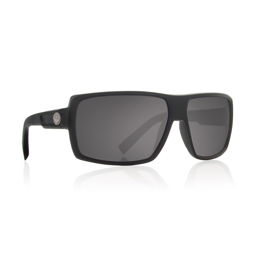 d9a1d54a975b Dragon Alliance - Double Dos Sunglasses Jet Black Frames Gray Polarized  Lenses - Walmart.com