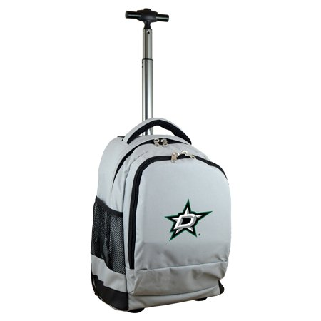 Dallas Stars 19 Premium Wheeled Backpack - Gray