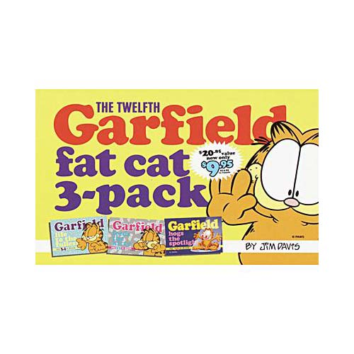The Twelfth Garfield Fat Cat 3-Pack