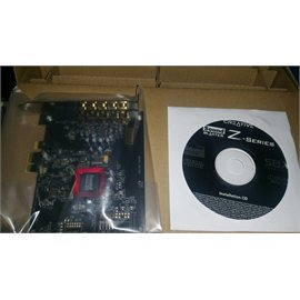 Creative Sound Card 30SB150200000 Sound Blaster Z with Sound Card and CD