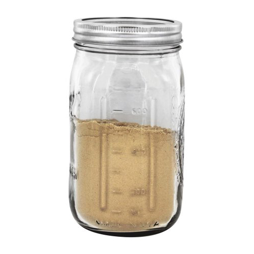 Ball Wide Mouth Quart 32 Oz. Glass Mason Jars with Lids and Bands, 12 Count