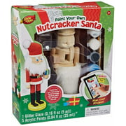 MasterPieces Works of Ahhh Wood Nutcracker Santa Holiday Paint Kit, 1 Each