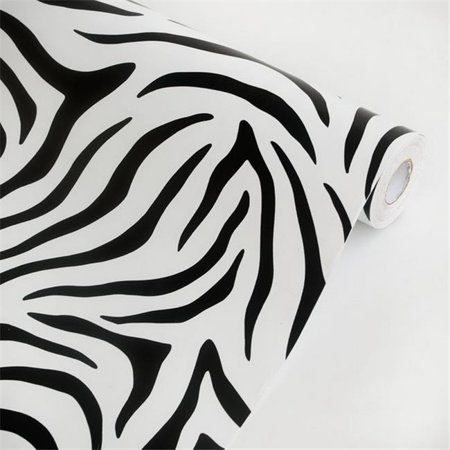 Animal Zebra - Self-Adhesive Wallpaper Home Decor  Multicolor](Halloween Themed Anime Wallpaper)