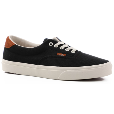 Vans Era 59 Flannel Black Men's Classic Skate Shoes Size (Vans X Fear Of God Era 95 Dx)