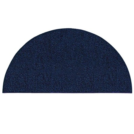 Broadway Collection Solid Color Indoor Outdoor Area Rugs Navy 54