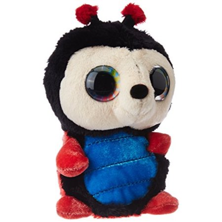 Ladybug Stuffed Animal (Wild Republic Ladybug Plush Toy, Stuffed Animal, Plush Toy, Jelly Bean L'Il Sweet & Sassy)