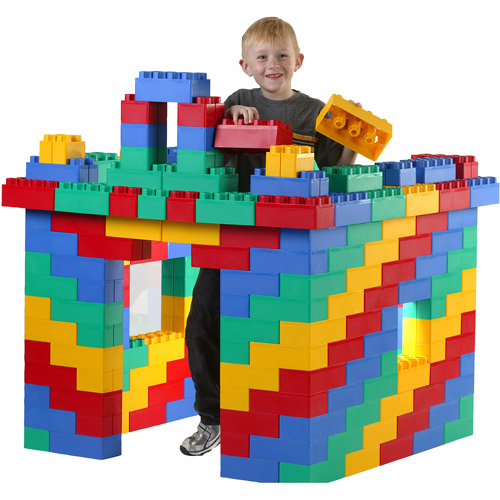Click here to buy Jumbo Blocks Standard Building Set, 96-Piece by Serec Entertainment.