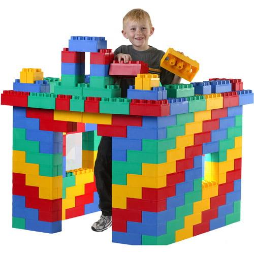 Jumbo Blocks Standard Building Set, 96-Piece - Walmart.com