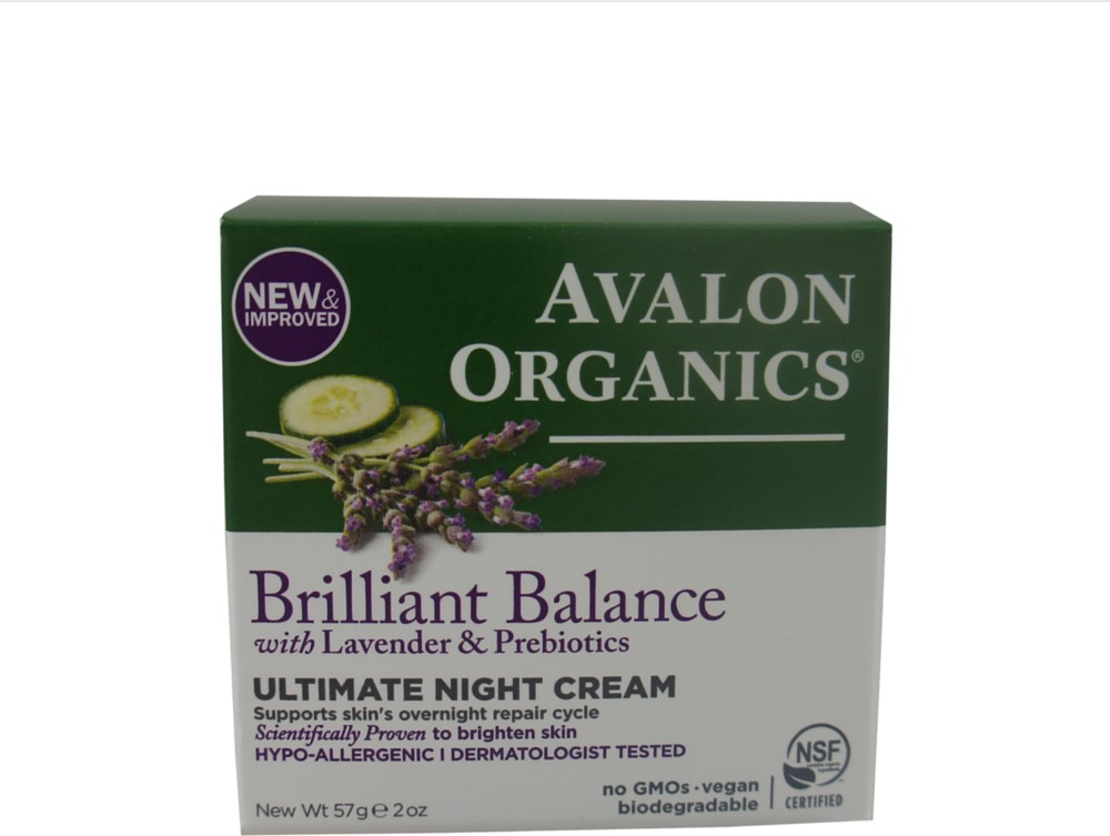 Avalon Organics Ultimate Night Cream, Lavender Luminosity 2 oz (Pack of 3) SHISEIDO by Shiseido After Sun Intensive Recovery Emulsion --/10OZ - Day Care