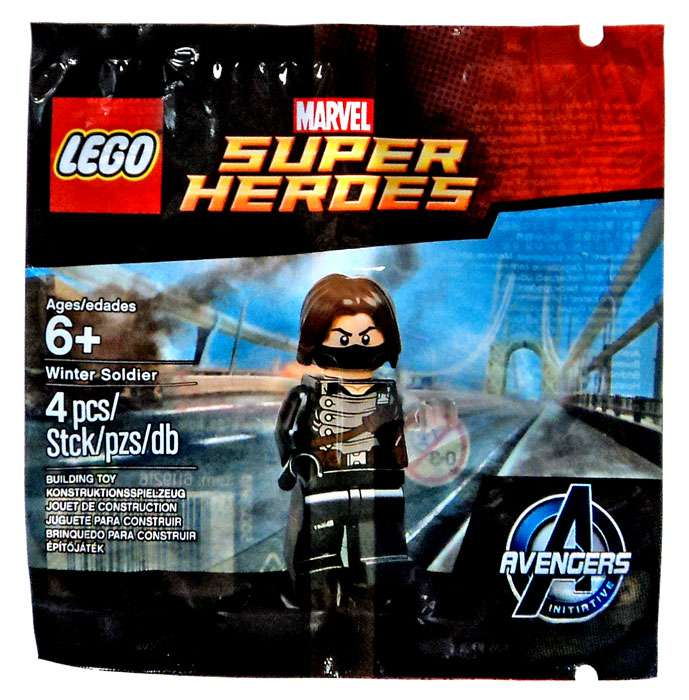 Marvel Avengers Initiative Winter Soldier Set LEGO 5002943 [Bagged]