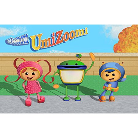 Team Umizoomi Umicity Party 1/4 Sheet Edible Photo Birthday Cake Topper Frosting Sheet Personalized! - Party City Birthday Cake Toppers