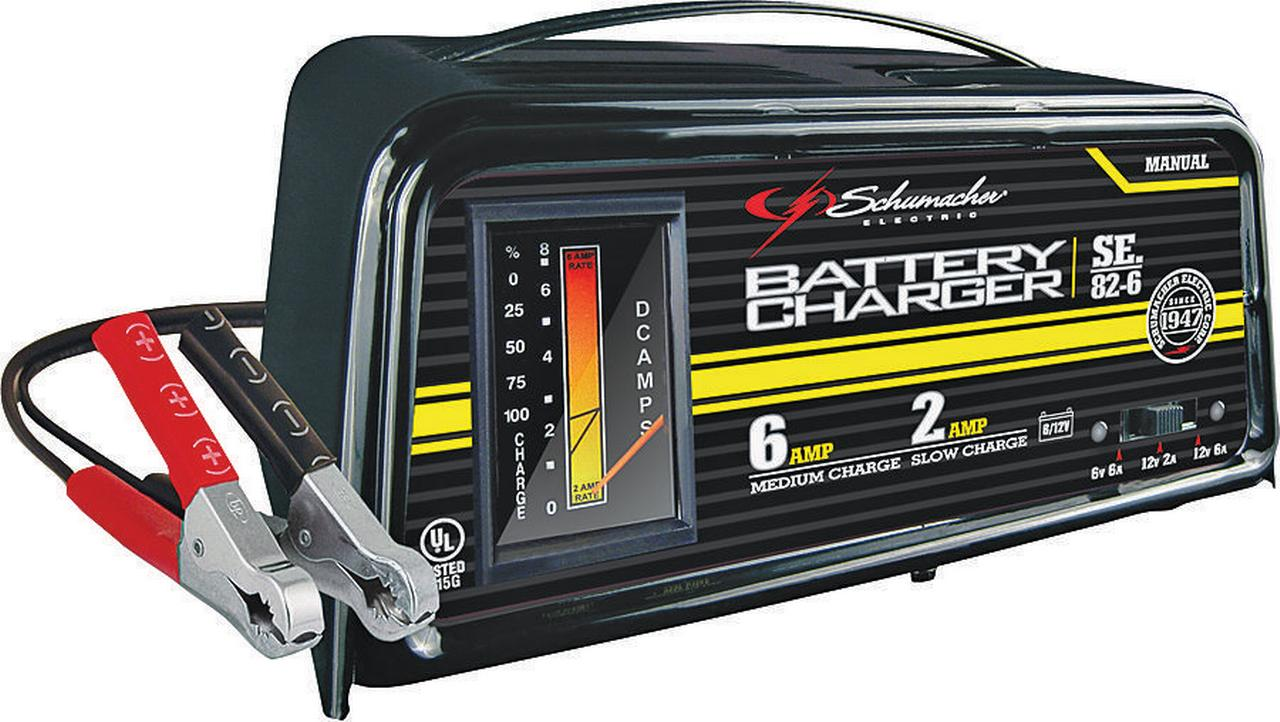 schumacher 6 2 amp dual rate manual charger walmart com rh walmart com Schumacher Battery Charger Instruction Manual Schumacher Automatic Battery Charger
