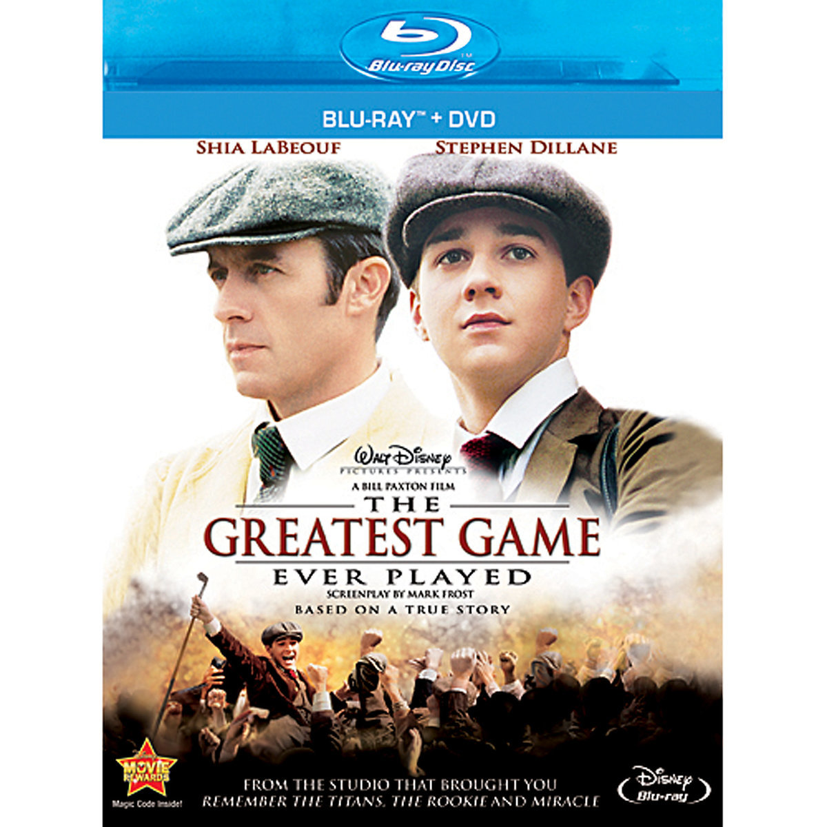 The Greatest Game Ever Played (Blu-ray + DVD)