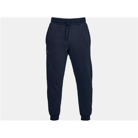 Under Armour 13207404083X Mens Rival Fleece Jogger Athletic Pants Navy 3X