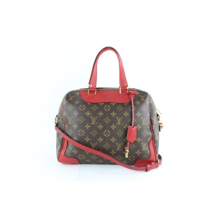 8bf11dab78d9 Louis Vuitton - PRE-OWNED Retiro Cerise Monogram Nm 6lz1812 Brown Coated  Canvas Shoulder Bag - Walmart.com