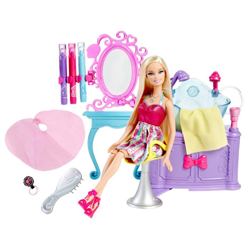 Barbie Hairtastic Color and Wash Salon