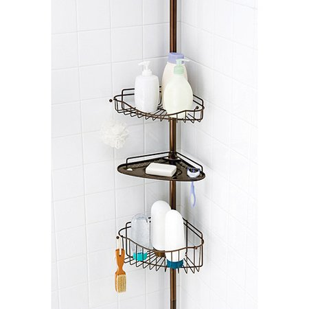 Three Tiered Bathroom Caddy Oil Rubbed Bronze Finish