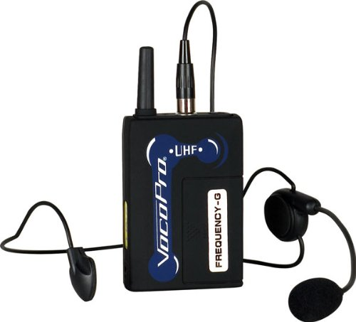 VocoPro Optional Headset for UHF Wireless Mic Systems (UHF-BP1-A)