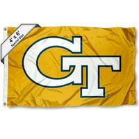 Georgia Tech Yellow Jackets 4' x 6' NCAA Flag