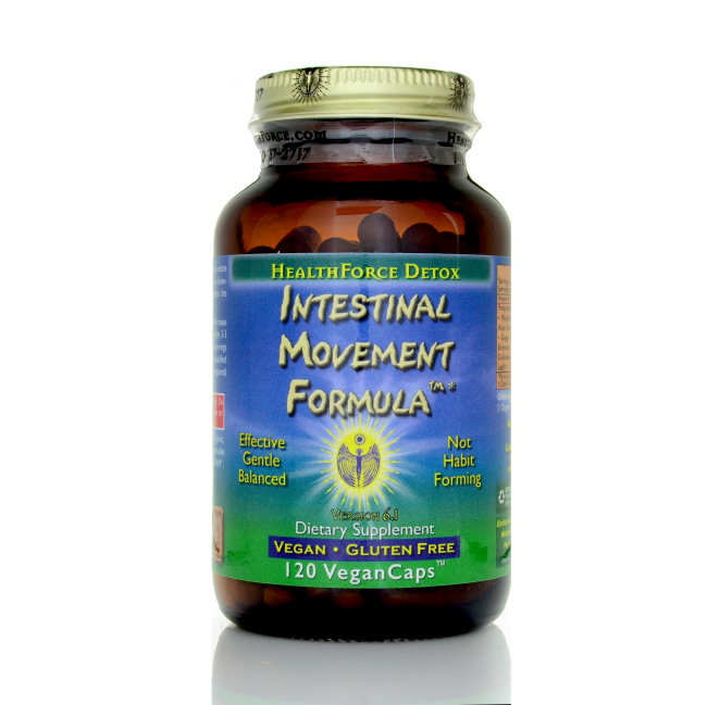 Healthforce Intestinal Movement Formula, 120 ct