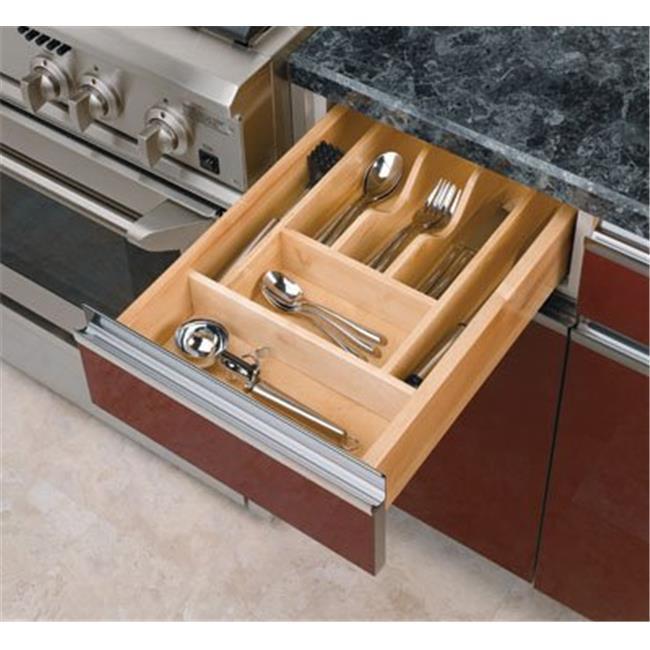 Rev A Shelf Rs4Wct. 1 14-. 63 inch X 2-. 88 inch Wood Cutlery Tray Insert