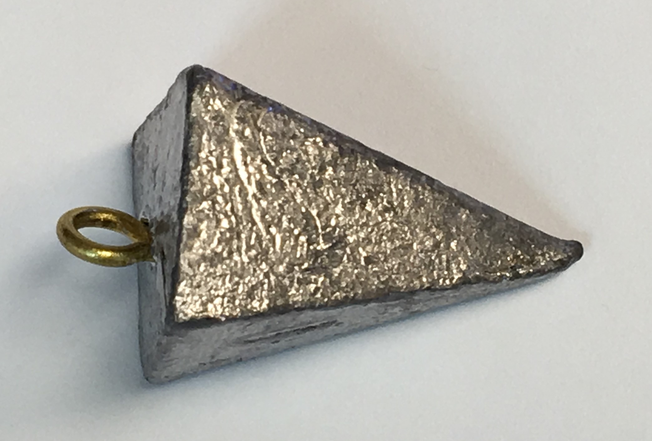 Triangle 4 oz Fishing Sinker Weight Lead