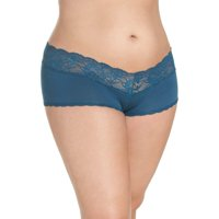 Cosabella Womens Never Say Never Ultra-Stretch Boyshorts (Jasper,12/14)