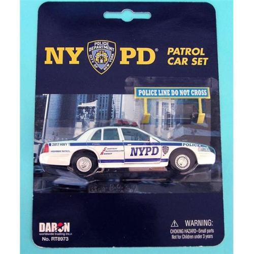 Daron RT8973 Nypd Police Car Set