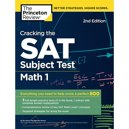 Cracking the SAT Subject Test in Math 1, 2nd Edition : Everything You Need to Help Score a Perfect 800 - Need Help Batman Halloween